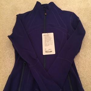 Lu Lu Lemon Cobalt Blue Define jacket size 4